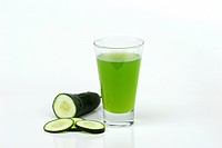 Cucumber juice / glass