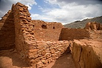 Wupatki Pueblo, Wupatki and Sunset Crater National Monuments, Arizona, USA