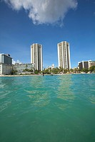 Hyatt Hotel, Waikiki Beach, Honolulu, Oahu, Hawaii, USA