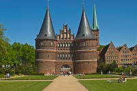 Holstentor, Lubeck, UNESCO World Heritage Site, Schleswig Holstein, Germany, Europe