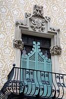 Casa Amatller by Josep Puig Cadafalch, Barcelona, Catalonia, Spain, Europe