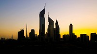 Dubai, Sheikh Zayed Road, Emirates Towers centre