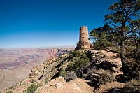 South Rim, Grand Canyon Dersert View Watchtower, Arizona