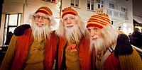 Icelandic Yule lads or Santa Claus, Reykjavik, Iceland  The Yule Lads from Icelandic Folklore who in modern times have become the Icelands version of ...