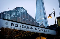 Borough Market, Southbank, Southwark, London, England
