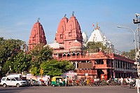 India, Delhi, Jain Lal Mandir Temple