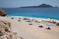 Turkey, Kaputas beach, between Kas and Kalkan