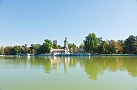 The Retiro Park in Madrid City