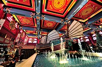 IBN Battuta, the world's largest themed shopping mall  The China Court  Dubai, United Arab Emirates.