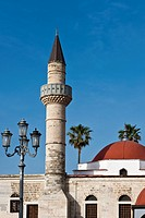 Greece, Dodecanese, Kos, the Defderdar mosque                                                                                                         ...