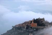 The medieval village of Eze, Alpes-Maritimes, Provence-Alpes-Côte d´Azur, France