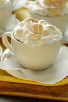 Meringue in a cup