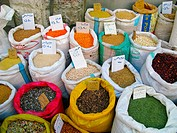 Several spices on market Jordan