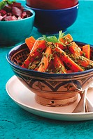 Spiced carrot salad Moroccan