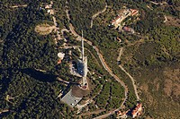 Collserola communication tower  Barcelona, Spain