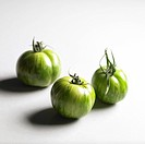 Three Green Zebra tomatoes