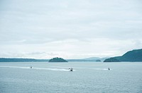 2 boats and jet ski.