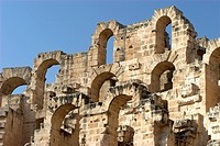 Roman Colosseum El Jem Tunisia finest Roman remains in Africa