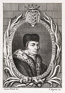 Francesco Guicciardini 1483_1540, Italian historian and statesman. Born in Florence, the circular inscription states that he is a historian and patric...