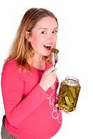tasting pickle