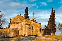 Chapel St  Sixte near Eygalieres, Provence, France