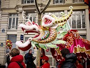 Chinese New Year in Paris, France