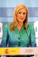 Cristina Cifuentes, delegate of the Government of Spain in Madrid  Madrid, 13/02/2012