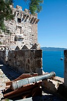 Bodrum Castle, located in southwest Turkey in the city of Bodrum, was built by the Knights Hospitaller starting in 1402 as the Castle of St. Peter or ...
