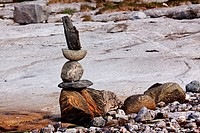 Rock Stack Sculpture