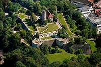 Castle and Fortress Sparrenberg, Bielefeld, North Rhine_Westphalia, Germany, Europe
