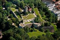 Castle and Fortress Sparrenberg, Bielefeld, North Rhine_Westphalia, Germany, Europe