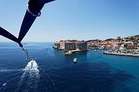 Stara luka, old port, Dubrovnik, Dubrovnik_Neretva county, Dalmatia, Croatia