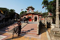 Phuc_Kien_Pagoda, Assembly Hall of the Fujian Chinese Congregation, Hoi An, Annam, Vietnam