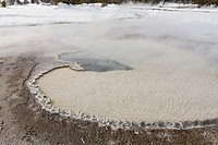 Hot Spring, Upper Geuser Basin, Winter, Yellowstone NP