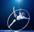 Angelica Bongiovanni, FlicFlac Christmas Circus, premiere of Schrille Nacht, eilige Nacht, Westphalia Hall, Dortmund, North Rhine-Westphalia, Germany,...