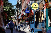 Petit Champlain street, Quebec City, UNESCO World Heritage Site, Quebec, Canada