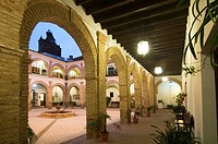 Convento del Carmen, Civic Center, Trigueros, Huelva-province, Spain,