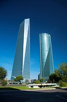 two madrid skyscrapers