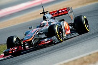 Jenson Button (GB), McLaren-Mercedes MP4-27, Formula 1 testing sessions, February 2012, Barcelona, Spain, Europe