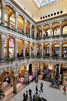 The Magna Plaza shopping centre, Amsterdam, North Holland, The Netherlands, Europe
