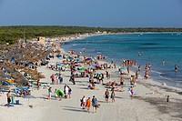 Platja des Trenc, Colonia de Sant Jordi, Mallorca Majorca, Balearic Islands, Spain, Mediterranean, Europe