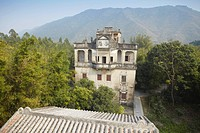 Changlu Villa in Majiang Long village, UNESCO World Heritage Site, Kaiping, Guangdong, China, Asia