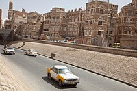 The city of Sanaa in Yemen