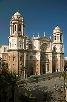 New Cathedral, Cadiz, Spain,