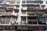 old buildings in Macau, China