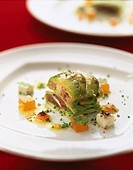 Sardine and avocado mille_feuille