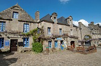 France, Finistere, Locronan, labelled Les plus Beaux Villages de France The Most Beautiful Villages of France