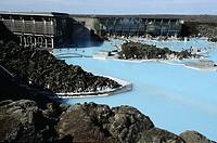 Iceland, Sudurnes Region, Grindavik, Blue Lagoon