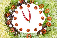 Vegetable clock