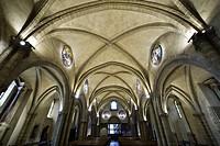 France, Haute Savoie, Le Chablais, Evian les Bains, Notre Dame de l´Assomption church